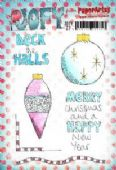 PaperArtsy JOFY Collection 27 – Deck the Halls Baubles JOFY27